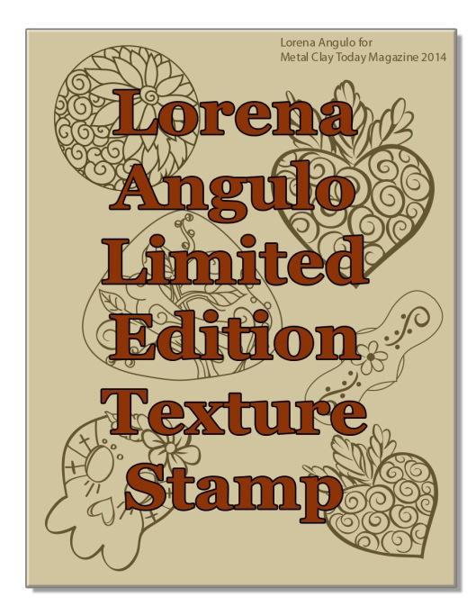 Lorena Angulo Limited Ed Stamp